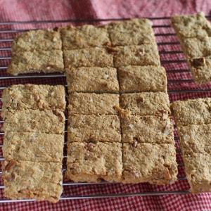 オートミールと米粉の「よく噛む」クッキー☆型抜きもナシ。レシピはアリ。