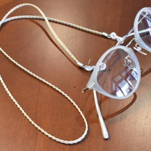 眼鏡の掛け外しが多い方におススメです(^^)/
