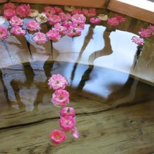 薔薇風呂。