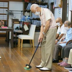 グランドゴルフ。