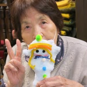 手袋人形作り。