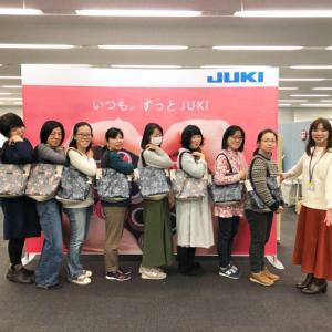 『普段使いトート』JUKIさんとのコラボWSありがとうございました!