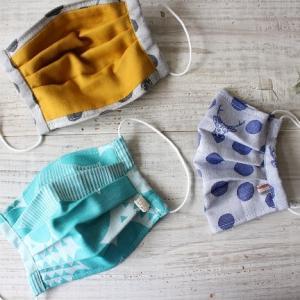 kokka fabric『型紙いらずのプリーツマスクの作り方』レシピ公開のお知らせ♪