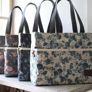 3刷目重版決定!「はじめてでもすてきに作れるバッグのきほん」&ローズ柄のお仕事バッグ