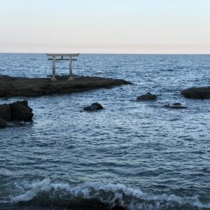 「大洗磯前神社」御朱印と海に浮かぶ鳥居に神秘を感じてきました♪