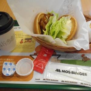 モスバーガーの「照り焼きチキン」とバーガーキングの「タルタルチキン」と三越恵比寿店の閉店