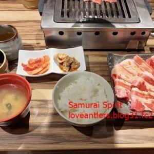 和牛焼肉金タレ渋谷道玄坂店のカルビ焼肉セット