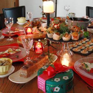 恒例ポットラックのクリスマスパーティー、実はインフルがうつってやっと生還しました!