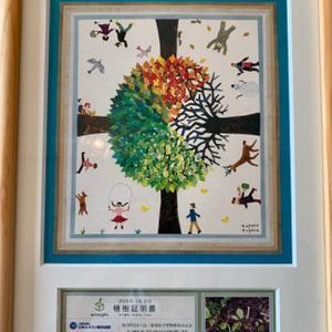 エコロギフトの植樹証明書