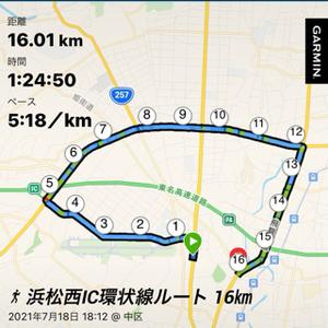 浜松西IC環状線ルート