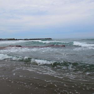 筒石旧漁港を散策