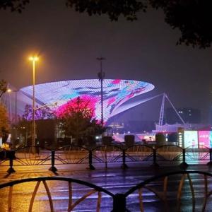 2019年10月15日,上海 夜景