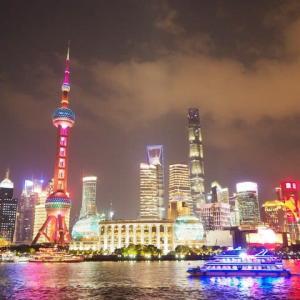 2019年10月17日,上海 リバークルーズ