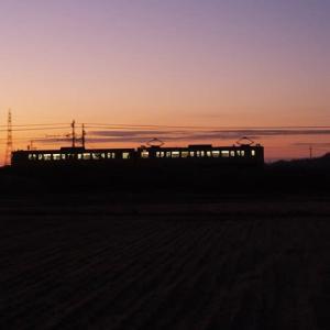2019年11月12日,今朝の山陽線 115系2連切妻