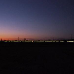 2019年11月18日,今朝の山陽線 117系4+4連