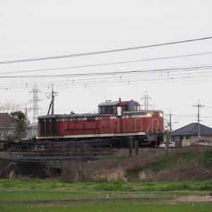 2020年3月30日,今朝の山陽線 水島臨海鉄道 DE70-1