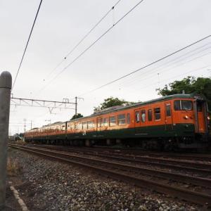 2020年7月2日,山陽線 115系湘南色