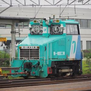 2020年7月11日,米沢駅にて 標準軌 モーターカー
