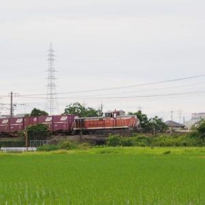 2020年7月12日,山陽線 3091レ 水島臨海鉄道 DE70-1