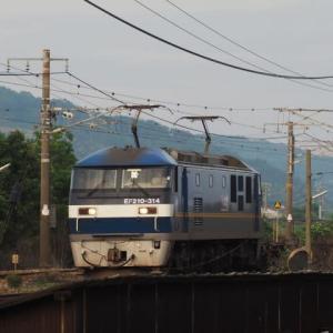 2020年7月21日,山陽線 1072レ EF210-314