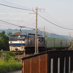 2020年7月21日,山陽線 56レ EF210-169+福山通運