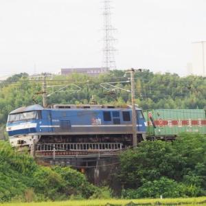 2020年9月15日,山陽線 56レ EF210-109更新色+福山通運