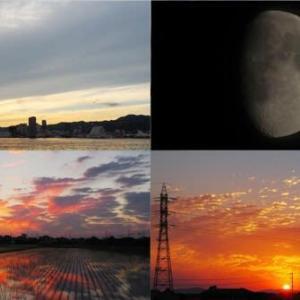 2021年6月21日 昨夕,今朝の風景 117系,115系,3091レ DE70-1,サンライズ出雲