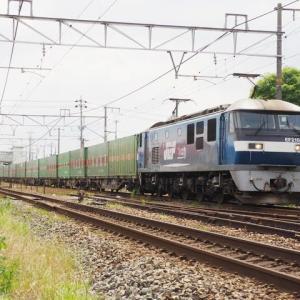 2021年6月15日 山陽線 1051レ,55レ 福山通運