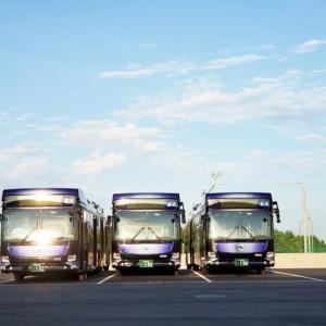 2021年7月20日 神姫バス 連接バス