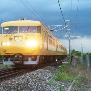 2021年7月15日 山陽線 117系 快速