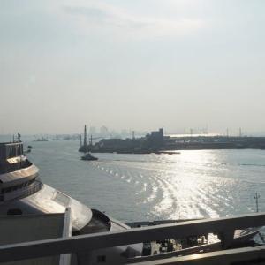 2019年8月25日,今朝の神戸港