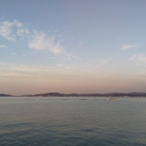 館山で釣り