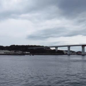 三浦半島で堤防釣り。