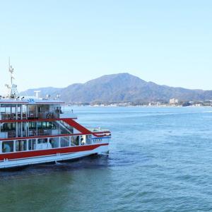 青空に恵まれた広島旅行