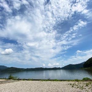 湖が5つもある県、三方五湖へ