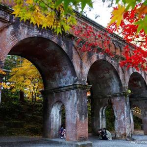 ノスタルジックな秋の水路閣