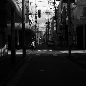 坂内小路から見る新潟の景色 20200912