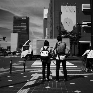 交差点・・・光の眩しい日 20210605