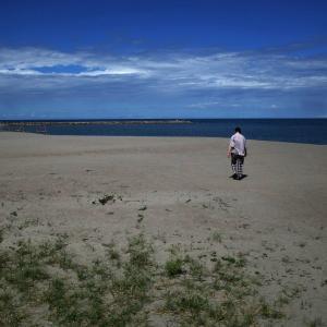 誰もいない海じゃなかったが、もう秋の気配 20210909