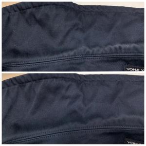 濃い色のジャケットの襟元が擦れや汗が原因で変色して白くなっていたり赤くなっていませんか?