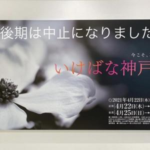 「いけばな神戸展」今回は「今こそ、花の力を」がテーマで4月22日から24日まで開催されております