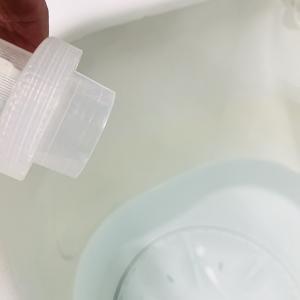 洗濯機の中のお品物に直接洗剤をかけてはいませんか?それ色が変化する原因になるかも知れませんよ