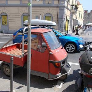 イタリア、ピサから、ピザを食べてから、フィレンツェへ戻る。