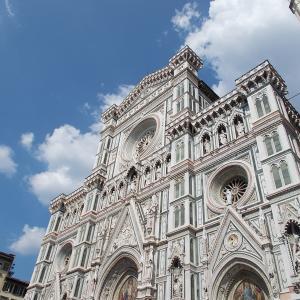 フィレンツェを去るその前に、フィレンツェの大聖堂へ入ってみる。