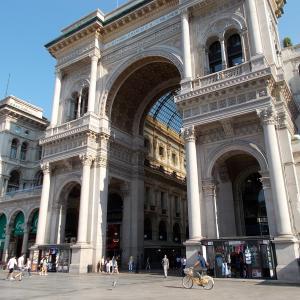 イタリア、ミラノのガッレリアに行ってみる。