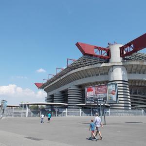 イタリア、ミラノのサン・シーロスタジアム(San Siro)に行ってみた。