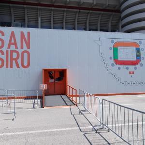 イタリア、ミラノのサン・シーロスタジアム(San Siro)に行ってみた、その2。