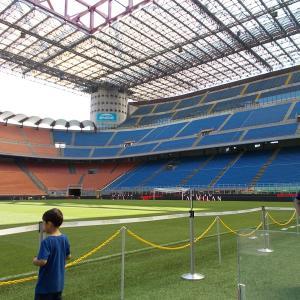 イタリア、ミラノのサン・シーロスタジアム(San Siro)に行ってみた、その5。