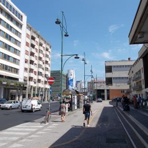 イタリア、ヴェネツィア近くのメストレ駅(Mestre)付近のホテルに泊まる。