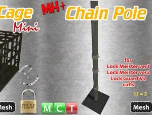 Update for MH+ Metal Cage Mini(v2.2), MH+ Under Floor Unit(v1.2), MH+ Chain Pole(v2.1)